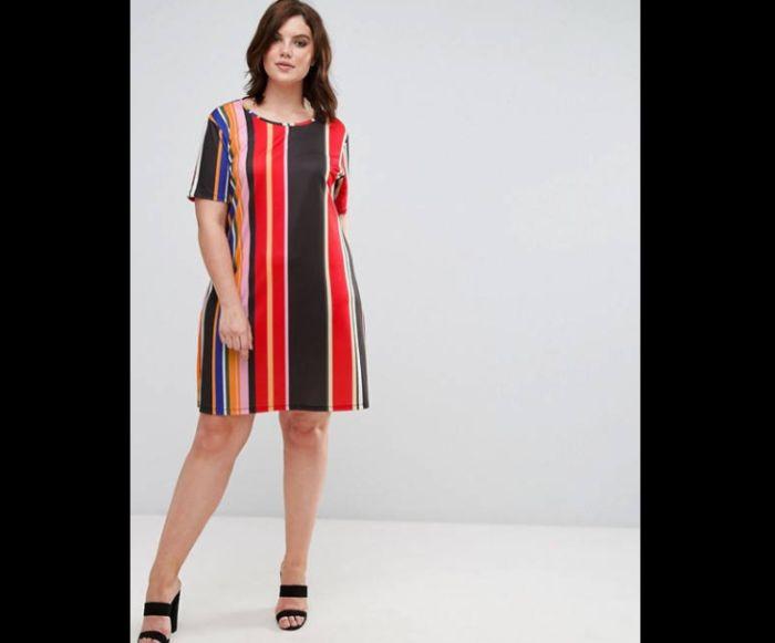 look plus size vestido