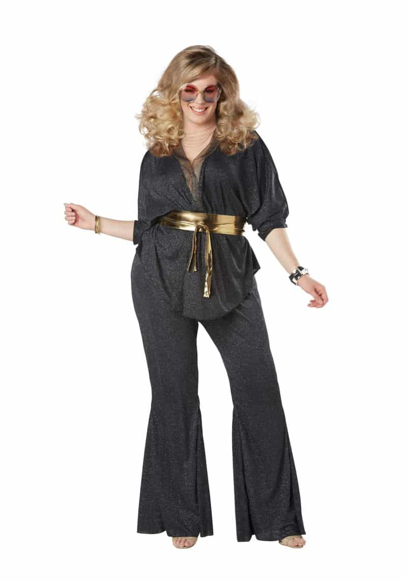 roupa carnaval plus size anos 70