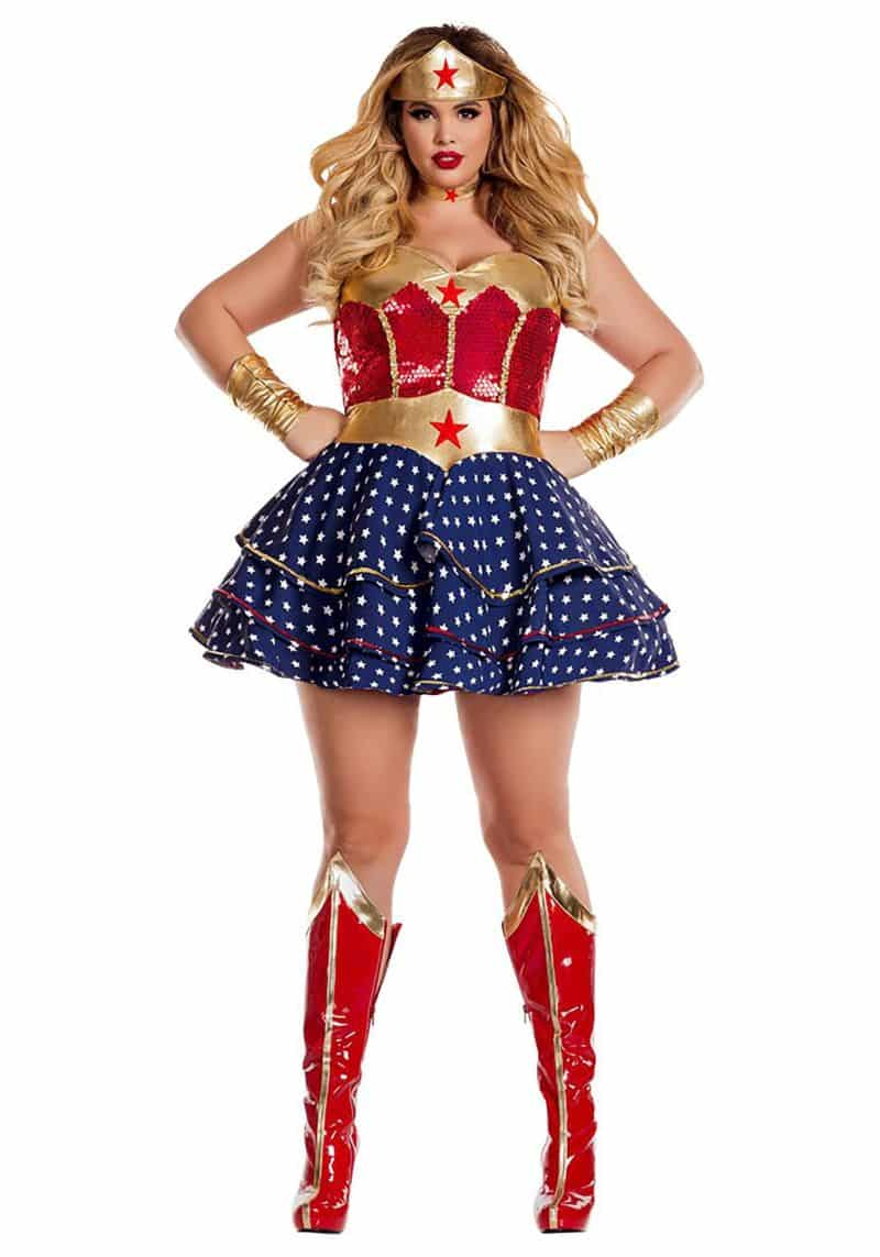 roupa carnaval plus size mulher