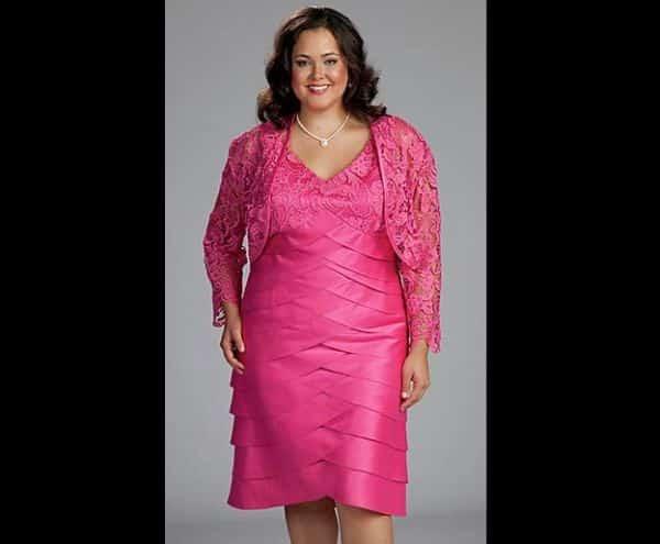 vestido de casamento pink