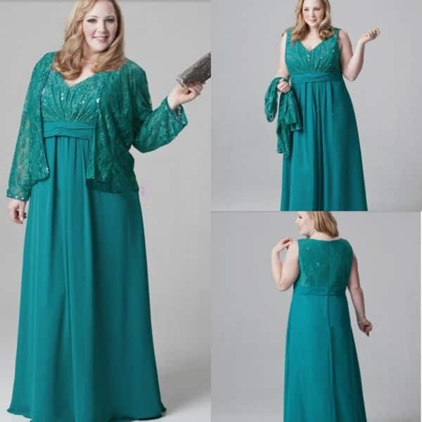 vestido de casamento turquesa
