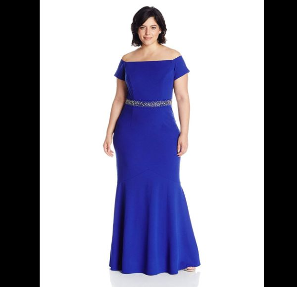 vestido de casamento azul royal