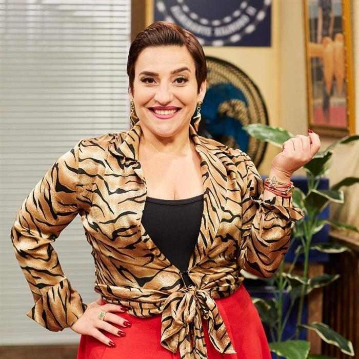 atriz Simone Guitierrez